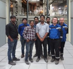 The team from JSL, Primetals Technologies India and Primetals Technologies Austria completed the hot commissioning of the new level 2 process automation of AOD converter #1 of Jindal Stainless Ltd. in
